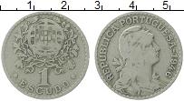 Изображение Монеты Португалия 1 эскудо 1946 Медно-никель VF