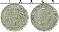 Изображение Монеты Португалия 1 эскудо 1966 Медно-никель VF