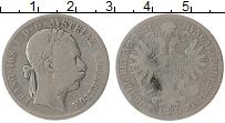 Изображение Монеты Австрия 1 флорин 1876 Серебро VF