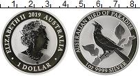 Изображение Монеты Австралия 1 доллар 2019 Серебро Proof
