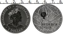 Изображение Монеты Австралия 1 доллар 2020 Серебро UNC