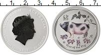 Изображение Монеты Австралия 50 центов 2019 Серебро Proof