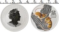 Изображение Монеты Австралия 1 доллар 2020 Серебро Proof