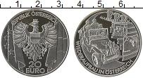 Изображение Монеты Австрия 20 евро 2003 Серебро Proof Путь через века. Пос