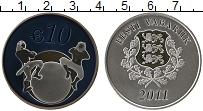 Продать Монеты Эстония 10 евро 2011 Серебро