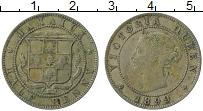 Изображение Монеты Ямайка 1/2 пенни 1899 Медно-никель XF