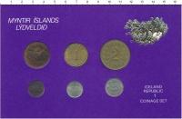 Изображение Подарочные монеты Исландия Набор монет 0  UNC-