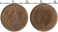 Изображение Монеты Южная Африка 1/4 пенни 1943 Бронза XF