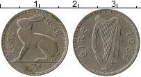 Изображение Монеты Ирландия 3 пенса 1956 Медно-никель XF-