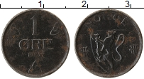 Изображение Монеты Норвегия 1 эре 1944 Железо VF