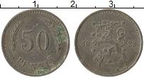 Изображение Монеты Финляндия 50 пенни 1923 Медно-никель VF