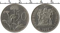 Изображение Монеты ЮАР 50 центов 1978 Медно-никель XF