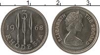 Продать Монеты Родезия 3 пенса 1968 Медно-никель