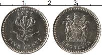 Продать Монеты Родезия 5 центов 1973 Медно-никель
