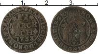Продать Монеты Ахен 2 марки 1753 Серебро