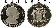 Изображение Монеты Ямайка 1 доллар 1977 Медно-никель Proof-