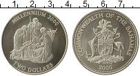 Продать Монеты Багамские острова 2 доллара 2000 Медно-никель