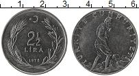 Изображение Монеты Турция 2 1/2 лиры 1978 Сталь XF
