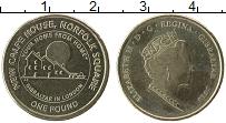 Изображение Монеты Гибралтар 1 фунт 2018 Латунь UNC-