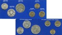 Изображение Подарочные монеты Аргентина Чемпионат мира по футболу 1978 1978 Серебро UNC Набор монет Аргентин