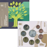 Изображение Подарочные монеты Сан-Марино Набор 2019 года 2019  UNC
