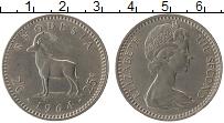 Продать Монеты Родезия 25 центов 1964 Медно-никель