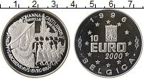 Изображение Монеты Бельгия 10 евро 1996 Серебро Proof- 500 лет Иоанны Касти