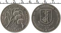 Продать Монеты Монтсеррат 4 доллара 1970 Медно-никель