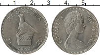 Изображение Монеты Родезия 20 центов 1964 Медно-никель UNC-