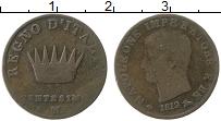 Изображение Монеты Италия 1 сентесим 1812 Медь VF
