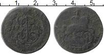 Продать Монеты 1762 – 1796 Екатерина II 1 копейка 1786 Медь
