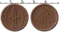 Продать Монеты Германия : Нотгельды 25 пфеннигов 1921 Фарфор