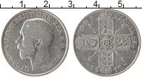 Изображение Монеты Великобритания 1 флорин 1919 Серебро VF