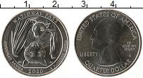 Изображение Мелочь США 1/4 доллара 2020 Медно-никель UNC