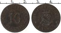 Изображение Монеты Германия : Нотгельды 10 пфеннигов 1917 Железо XF-