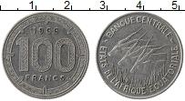 Изображение Монеты Экваториальные Африканские территории 100 франков 1966 Медно-никель XF