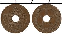 Изображение Монеты Бельгийское Конго 1 сантим 1919 Бронза XF