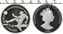 Продать Монеты Багамские острова 5 долларов 1994 Серебро