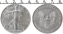 Изображение Мелочь США 1 доллар 2020 Серебро UNC
