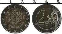 Изображение Мелочь Эстония 2 евро 2020 Биметалл UNC