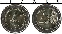 Изображение Мелочь Италия 2 евро 2020 Биметалл UNC Национальный корпус
