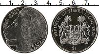 Изображение Мелочь Сьерра-Леоне 1 доллар 2020 Медно-никель UNC Большие кошки. Лев