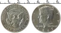 Изображение Монеты США 1/2 доллара 1967 Серебро UNC- Джон Кеннеди
