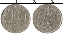 Изображение Монеты Мексика 10 сентаво 1888 Серебро VF