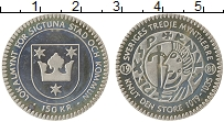 Изображение Монеты Швеция 150 крон 1981 Серебро Proof-