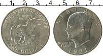 Изображение Монеты США 1 доллар 1971 Медно-никель UNC