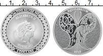 Изображение Монеты Токелау 5 долларов 2019 Серебро UNC