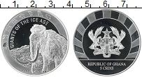 Изображение Монеты Гана 5 седи 2019 Серебро Proof