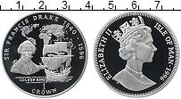 Изображение Монеты Остров Мэн 1 крона 1996 Серебро Proof