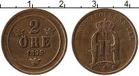 Изображение Монеты Швеция 2 эре 1895 Медь XF